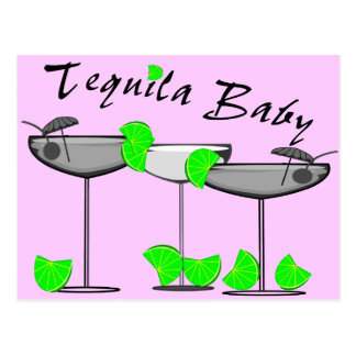Tequila Baby - Tquila Lovers Womens T-Shirts Post Card