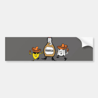 Tequila Best Friends Forever Bumper Sticker