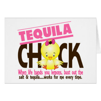 Tequila Chick Card