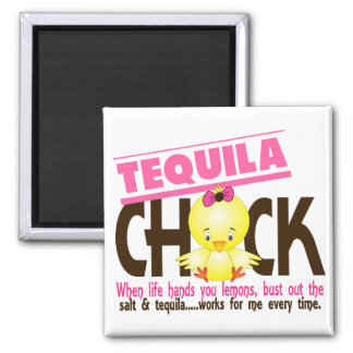 Tequila Chick Refrigerator Magnets