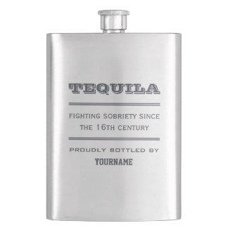 TEQUILA custom premium flask