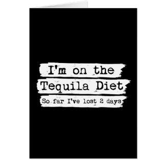 Tequila Diet Card