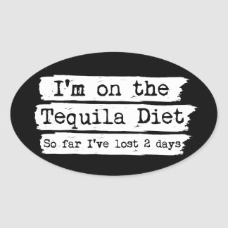Tequila Diet Stickers