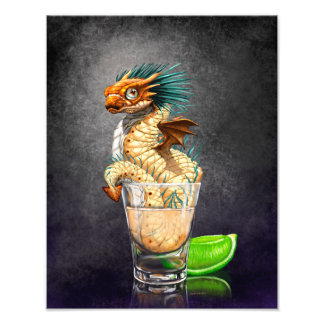 Tequila Dragon 11x14 Print