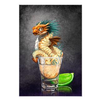Tequila Dragon 13x19 Print