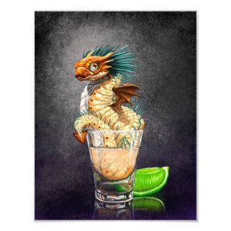 Tequila Dragon 8.5x11 Print