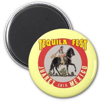 Tequila Fest 6 Cm Round Magnet