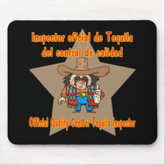 Tequila Inspector Cinco de Mayo Shirts and Gifts Mouse Pad