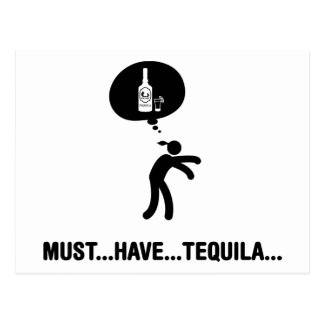 Tequila Lover Postcard