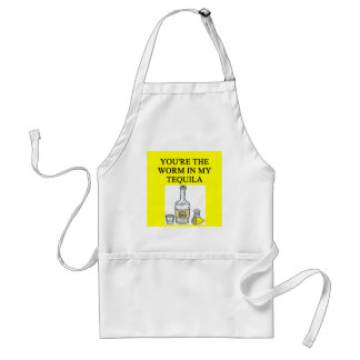 TEQUILA lovers Standard Apron