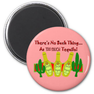 Tequila Lovers T-Shirts & Gifts 6 Cm Round Magnet