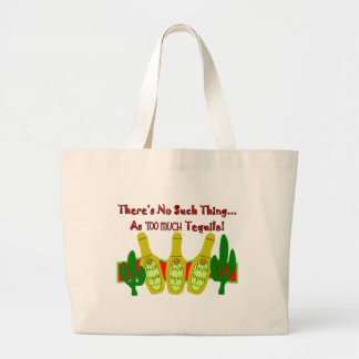 Tequila Lovers T-Shirts & Gifts Large Tote Bag
