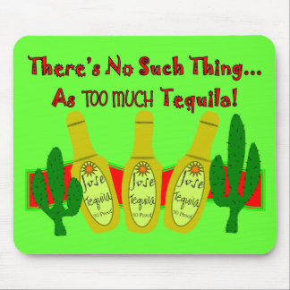Tequila Lovers T-Shirts Gifts Mouse Mats