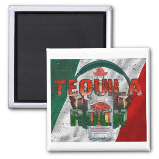 Tequila Rock Refrigerator Magnet