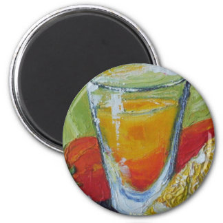 Tequila Shot Refrigerator Magnet