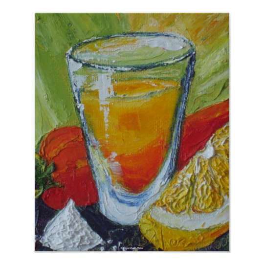 Tequila Shot & Red Chilli Pepper Fine Art Posters