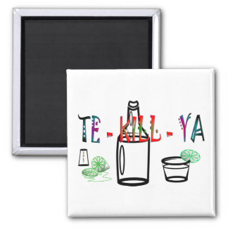 Tequila Square Magnet