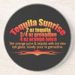 Tequila Sunrise coaster