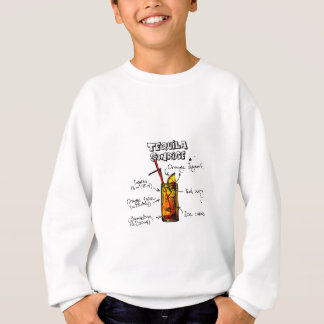 Tequila Sunrise Cocktail Recipe Sweatshirt