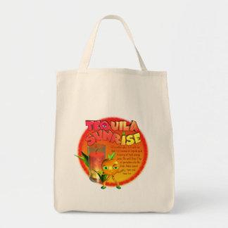 Tequila Sunrise recipe Canvas Bags