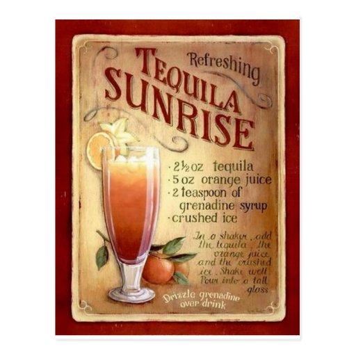 tequila sunrise recipe post cards