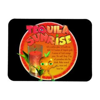 Tequila Sunrise recipe Magnets