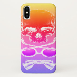 Tequila Sunrise Skull Time Case