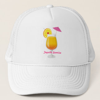Tequila Sunrise Trucker Hat