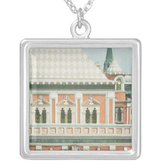 Terem Palace Silver Plated Necklace