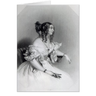 Teresa, Contessa Guiccioli Greeting Card