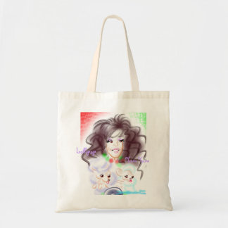 Teresa's Caricature Tote Budget Tote Bag