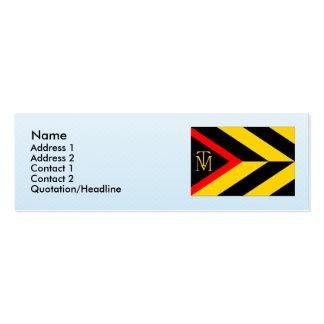 Terezin LT, Czech Business Card Template
