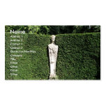 'Term' statue at Chiswick House Chiswick London UK Business Cards