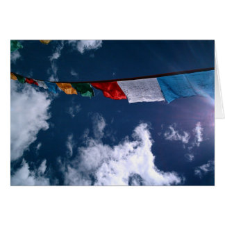 Terma Foundation Blank Notecard- Prayer Flags Greeting Card