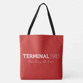 Terminal 1913 Large Red Tote