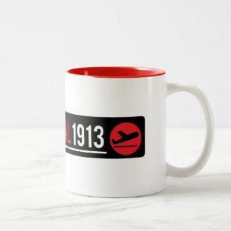 Terminal 1913 Mug with Red Detail