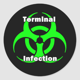 Terminal Infection sticker Design
