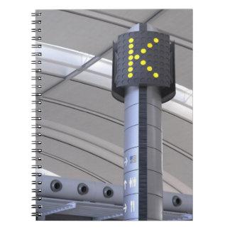 Terminal Sign, Toronto Pearson International Notebook