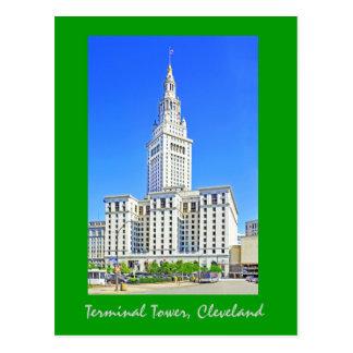 Terminal Tower, Cleveland, Ohio, U.S.A. Postcard