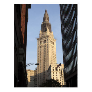 Terminal Tower, View from Street Postcard