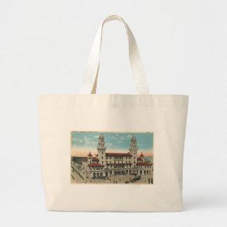 Terminal Train Station, Atlanta 1923 Vintage Canvas Bag