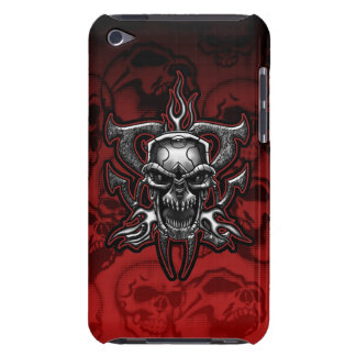 Terminator Skull Illustrated Chrome Skeleton iPod Case-Mate Cases