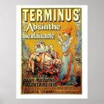 Terminus Absinthe Print