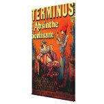 Terminus Absinthe Vintage PosterEurope Canvas Print