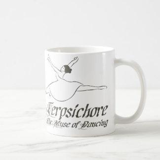 Terpsichore Basic White Mug