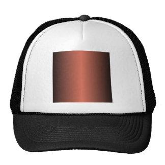 Terra Cotta and Black Gradient Hats