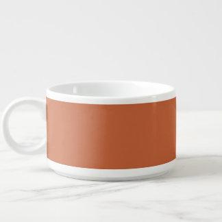 Terra Cotta colored Chili Bowl