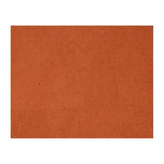 Terra Cotta colored Cork Paper Prints