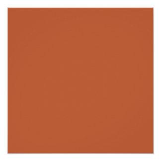 Terra Cotta colored
