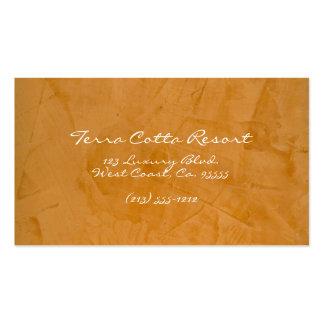 Terra Cotta Resort Business Cards